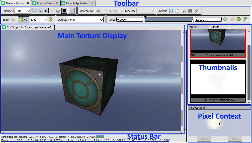 Texture Viewer — RenderDoc documentation