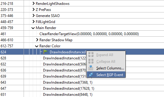 How do I generate an RGP profile? — RenderDoc documentation
